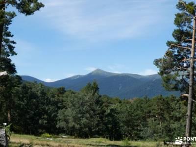 Chorranca y Silla del Rey, Cerro del Moño de la Tía Andrea;tiempo en la pedriza eresma sierra norte
